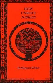 Cover of: How I wrote Jubilee
