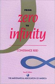 From zero to infinity by Constance Reid