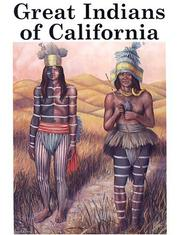 Cover of: Great Indians of California | Harry Knill