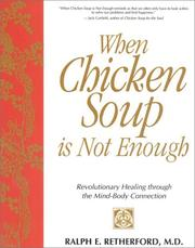 Cover of: When chicken soup is not enough