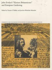 Cover of: John Evelyns Elysium Britannicum and European gardening |