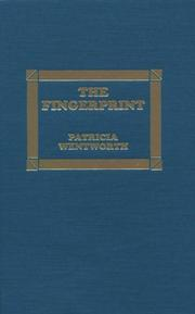 The fingerprint by Patricia Wentworth