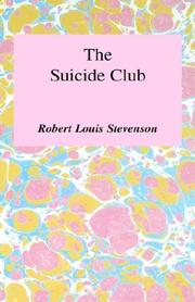 Cover of: Suicide Club and Other Stories | Robert Louis Stevenson