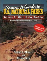 Cover of: Camper's guide to U.S. National Parks