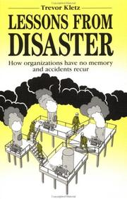 Cover of: Lessons from Disaster