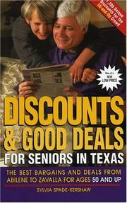 Cover of: Discounts and Good Deals for Seniors in Texas | Sylvia Spade-Kershaw