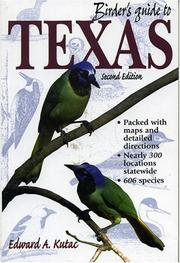 Cover of: Birder's guide to Texas