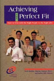Cover of: Achieving the perfect fit |
