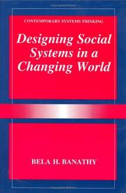 Cover of: Designing social systems in a changing world