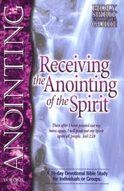 Receiving the anointing of the Spirit by Larry Keefauver
