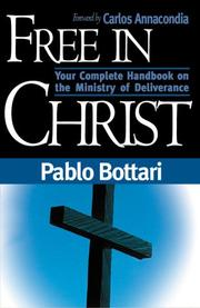 Cover of: Free in Christ