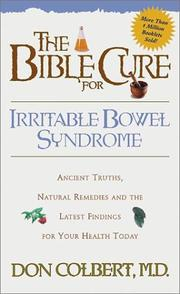 Cover of: The Bible Cure for Irritable Bowel Syndrome