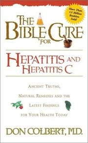 Cover of: The Bible Cure for Hepatitis and Hepatitis C