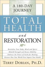 Cover of: Total Health and Restoration | Terry Dorian
