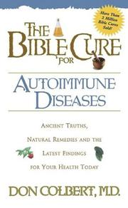 Cover of: Bible Cure for Autoimmune Disorders (Bible Cure (Siloam))