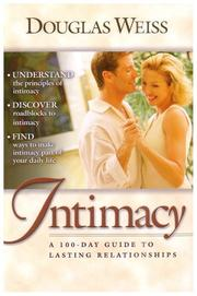 Cover of: Intimacy