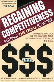 Cover of: Regaining competitiveness