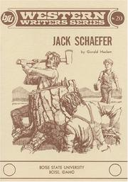 Cover of: Jack Schaefer