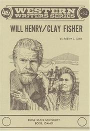 Cover of: Will Henry/Clay Fisher
