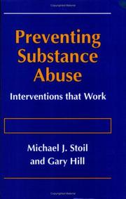 Cover of: Preventing substance abuse