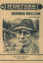 Cover of: Norman Maclean