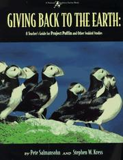 Cover of: Giving back to the earth | Pete Salmansohn