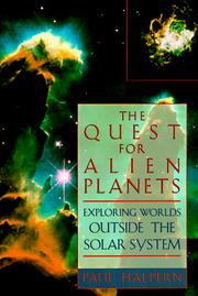Cover of: The quest for alien planets