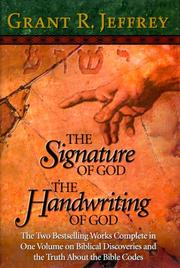 Cover of: The Signature of God/The Handwriting of God