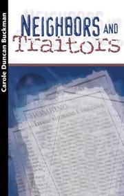 Cover of: Neighbors and traitors
