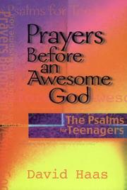 Cover of: Prayers before an awesome God