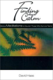 Cover of: Finding the calm