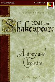 Cover of: Antony and Cleopatra (Shakespeare's Hot) | William Shakespeare