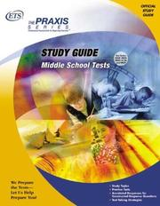 Cover of: Study Guide for the Middle School Tests (Praxis Series) | Educational Testing Service.