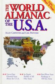 Cover of: The world almanac of the U.S.A