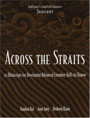 Cover of: Across the straits