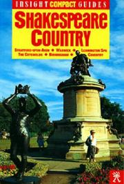 Cover of: Insight Compact Guide Shakespeare Country