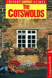 Cover of: Insight Compact Guide the Cotswolds (Insight Compact Guide Cotswolds)