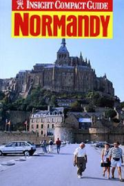 Cover of: Insight Compact Guide Normandy