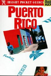 Cover of: Insight Pocket Guide Puerto Rico | Larry Luxner