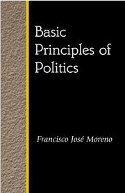 Cover of: Basic principles of politics