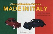 Cover of: Classic miniature vehicles made in Italy