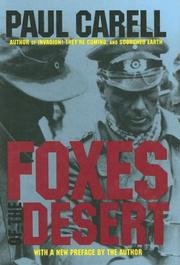 Cover of: The foxes of the desert