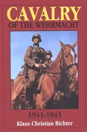 Cover of: Cavalry of the Wehrmacht