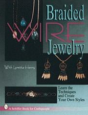 Cover of: Braided wire jewelry