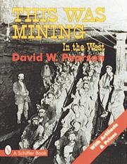 Cover of: This was mining in the West
