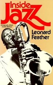 Cover of: Inside jazz