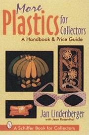 Cover of: More plastics for collectors