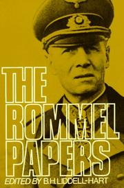 Cover of: The Rommel papers