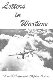 Cover of: Letters in Wartime | Kenneth Brown