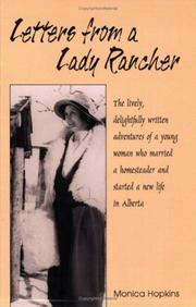 Letters from a lady rancher by Monica Hopkins